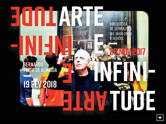 Arte e Infinitude | Ir al evento: 'Arte e Infinitude'. Curso de Pintura en Biblioteca de Serralves / Porto, Portugal