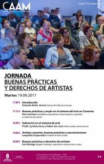 Jornada 'Buenas Prácticas y Derechos de Artistas'