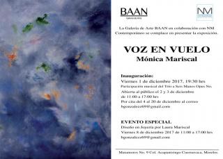 VOZ EN VUELO. Imagen cortesía NM Contemporáneo, Galería de Arte