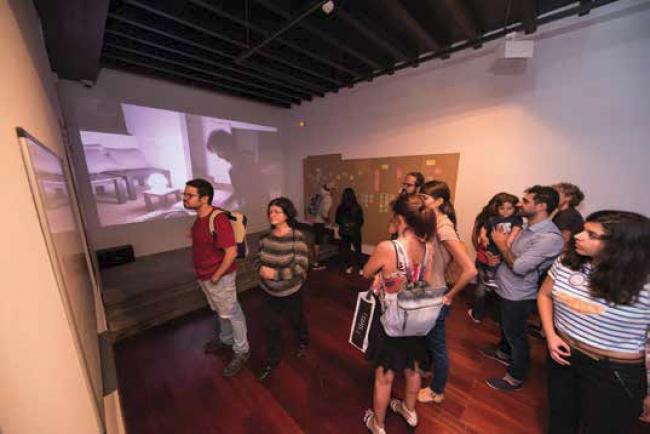 Espacio CV. Creatividad y Visibilidad – Cortesía del Centro Atlántico de Arte Moderno (CAAM)