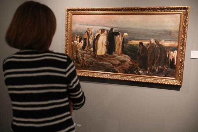 Inauguración de la exposición – Imagen cortesía de la Fundación Unicaja