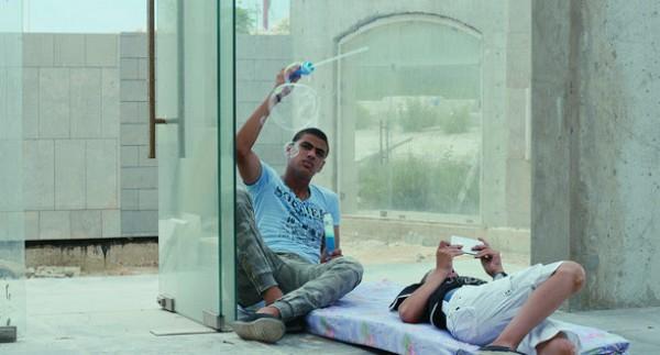 Akram Zaatari, Beirut Exploded View, 2014. Video installation.