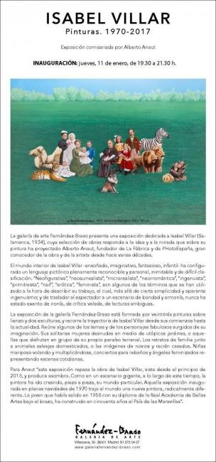 Isabel Villar. Pinturas: 1970-2017