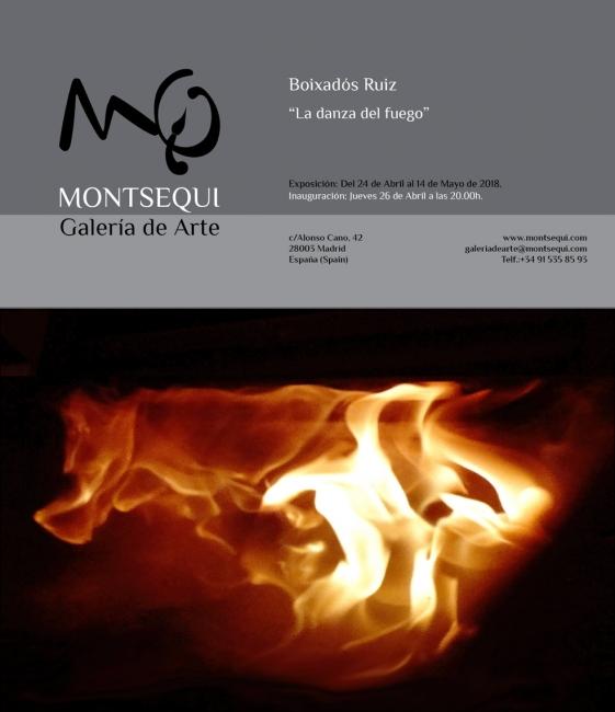 Boixadós Ruiz. La danza del fuego