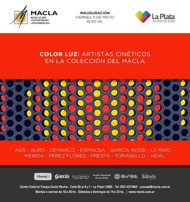 Color – luz: Artistas cinéticos en la colección del MACLA