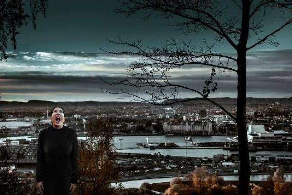 MARINA ABRAMOVIC. The Scream, 2013/2014. Digital C-Print. Ed. 7/7 150 cm x 230 cm.