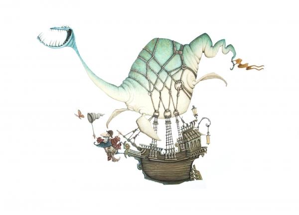 PINTACUENTOS | Ir al evento: 'Pintacuentos. Ilustración mexicana contemporánea para niños'. Exposición de Artes gráficas en Centro Cultural Universidad del Pacífico / Lima, Perú