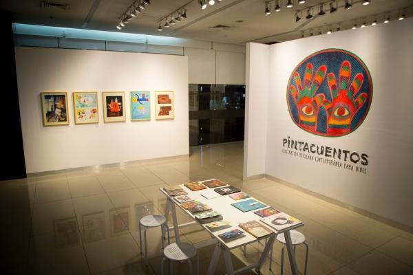 Exposición | Ir al evento: 'Pintacuentos. Ilustración mexicana contemporánea para niños'. Exposición de Artes gráficas en Centro Cultural Universidad del Pacífico / Lima, Perú