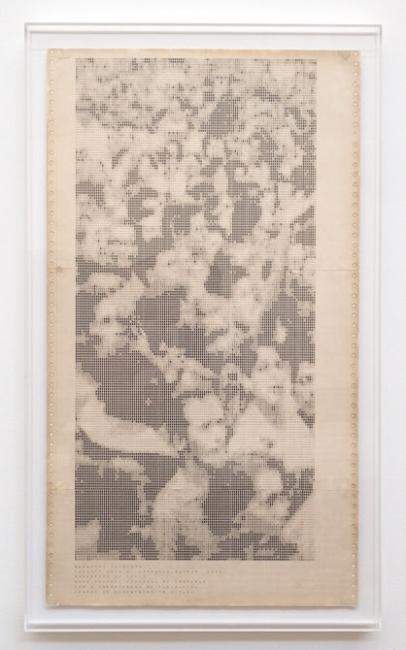 """Waldemar Cordeiro, """"Gente Grau 2"""", 1972. Imagen cortesía Luciana Brito Galeria"""