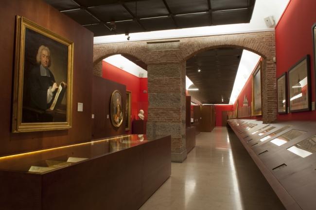 Vista de la exposición – Cortesía de la Real Academia de Bellas Artes de San Fernando