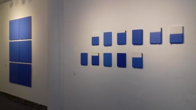 Vista 3 de la exposiciónice Azules