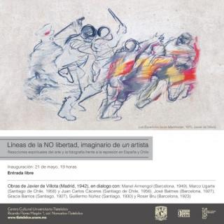 Líneas de la NO libertad, imaginario de un artista