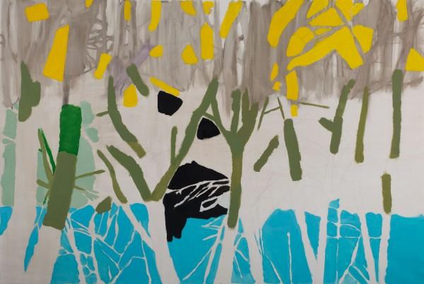 Morten Slettemeås, Óleo sobre lienzo, 2015, 200x300 cm. (galería Luis Adelantado) -Premio de adquisición Fundación Hortensia Herrero-