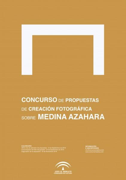 CONCURSO DE PROPUESTAS DE CREACIÓN FOTOGRÁFICA  SOBRE MEDINA AZAHARA
