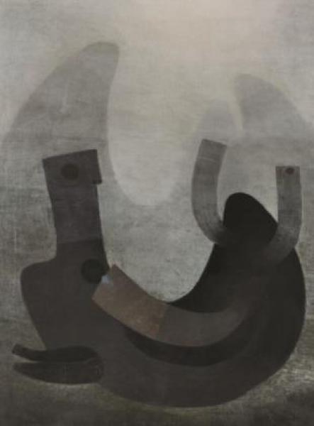 TILSA TSUCHIYA, Soledad, 1968. Óleo sobre tela, 130 x 101 cm