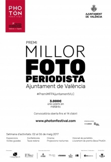 I Premi Millor Fotoperiodista Ajuntament de València