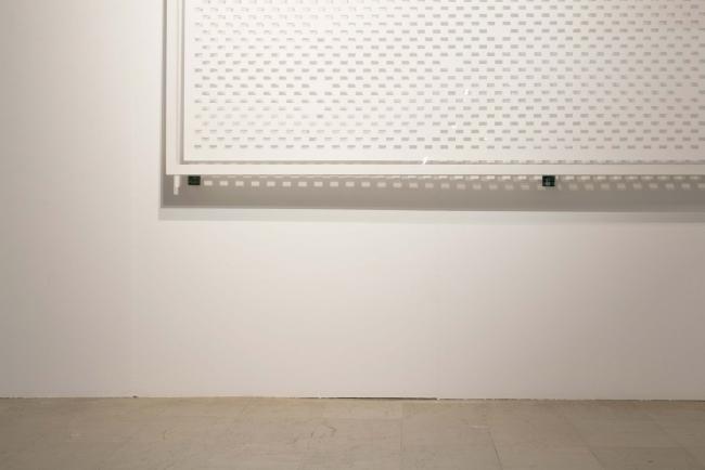 """""""Dei Canti Lamentosi"""" (Detalle). 2017  // Manuel Blázquez // Papel Basik 150 g. cortado a mano. 112x285 cm."""
