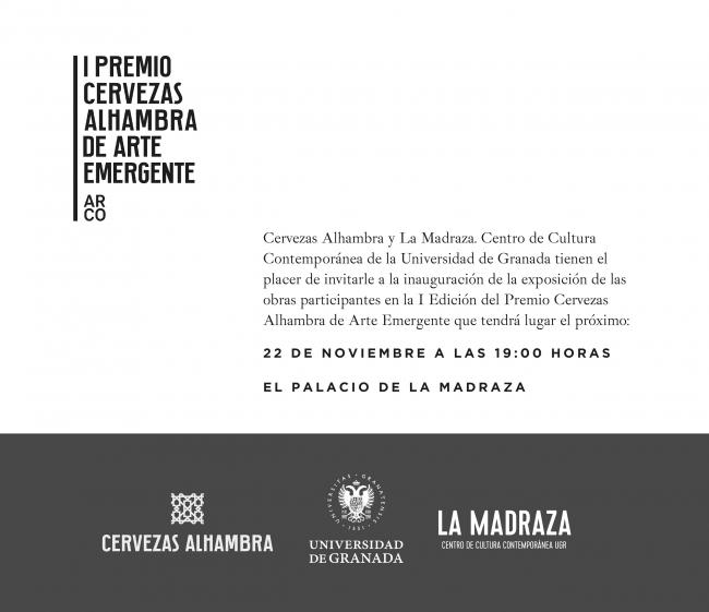I Premio Cervezas Alhambra de Arte Emergente