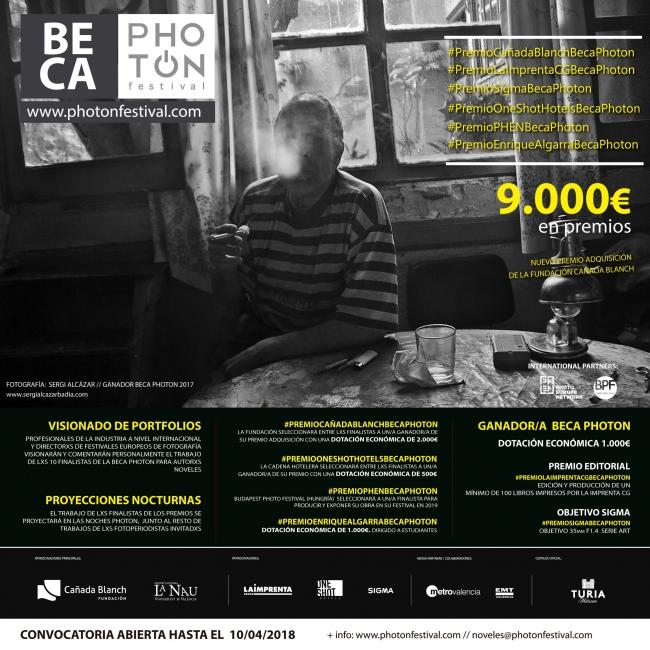 Beca PhotOn Festival 2018
