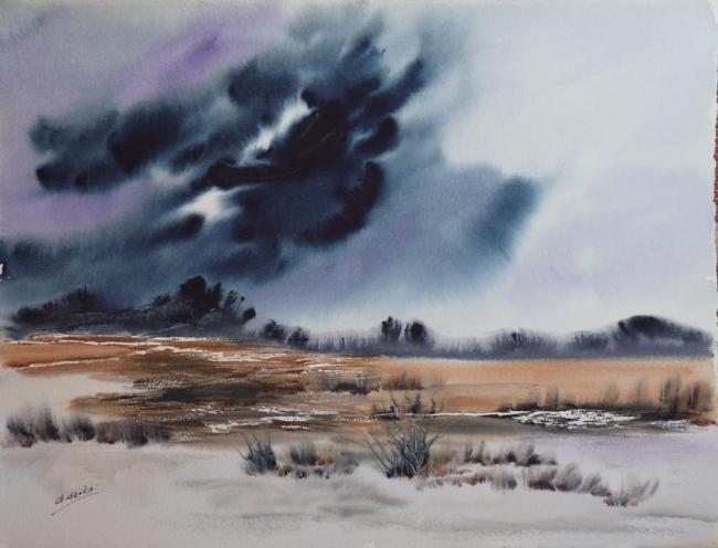 Ana Azorín, La tormenta que viene – Cortesí de la Galería Michel Menendez
