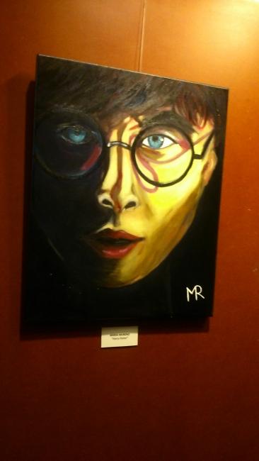 """Imágen de la exposición """" Harry Porter"""" por María Reyes Moreno Cruz"""