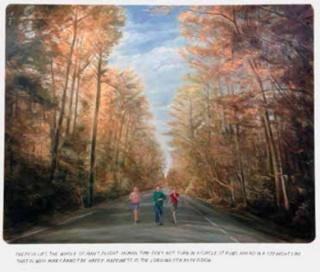 Muntean & Rosenblum, Untitled (Therein lies the whole...), 2014, Oli sobre tela, 190 x 220 cm