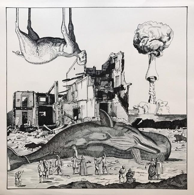 Oscar Seco, dibujo 10, 2017