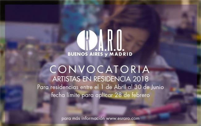 RESIDENCIAS R.A.R.O BUENOS AIRES 2018