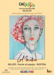 MUJER - FRENTE AL ESPEJO - INSPIRA