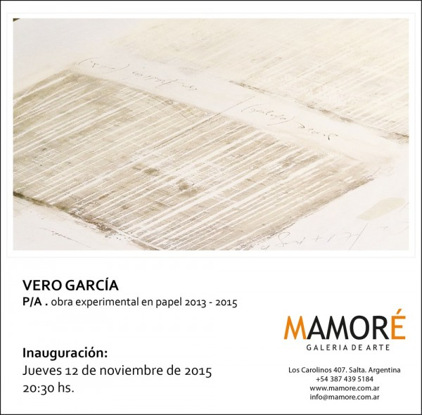 Verónica García, P/A