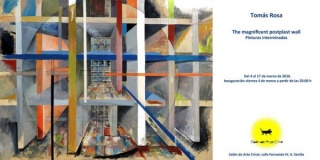 Tomás Rosa. The magnificient postplast wall. Pinturas interminadas