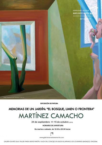 Martínez Camacho, Memorias de un jardín: El bosque, limen o frontera