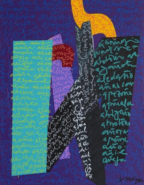 La danza | Ir al evento: 'A solas con la Ñ'. Exposición de Escultura, Pintura en Sala de Exposiciones Prado 19 - Ateneo de Madrid / Madrid, España