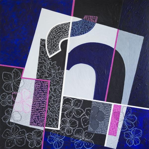 Azul de antaño | Ir al evento: 'A solas con la Ñ'. Exposición de Escultura, Pintura en Sala de Exposiciones Prado 19 - Ateneo de Madrid / Madrid, España