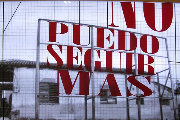 CARLOS GARAICOA. De la serie La palabra transformada II, 2009. Cortesía del artista y del Centro Botín