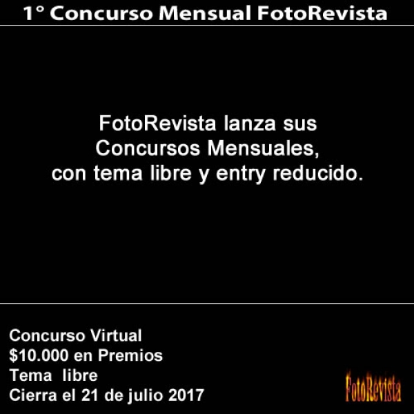 1° Concurso Mensual FotoRevista