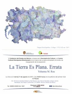 Yohanna M. Roa. La Tierra Es Plana, Errata
