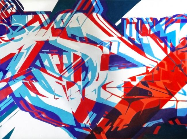 Miedo12 - Y-01 // Cortesía de Plastic Murs