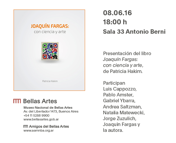 """Presentación del libro \""""Joaquín Fargas:con ciencia y arte\"""""""