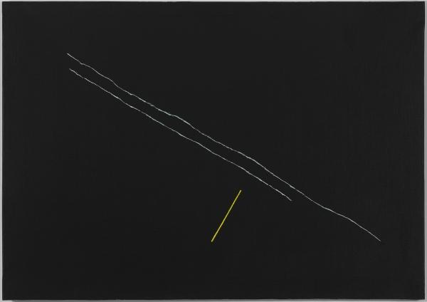 Pic Adrian, Sin título, 1992, Acrílico sobre tela, 81x116 cm.