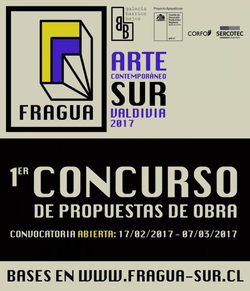 I Concurso de Propuestas de Obra FRAGUA: Arte Contemporáneo Sur