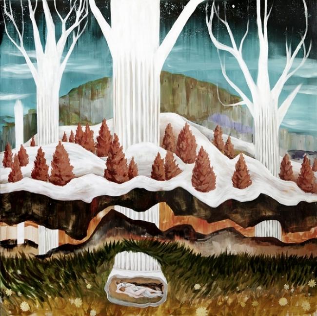 Puxagallert_Santi Lara_La gruta 2017 | Ir al evento: 'Estampa 2017'. Feria de arte de Escultura, Fotografía, Pintura en Matadero Madrid / Madrid, España