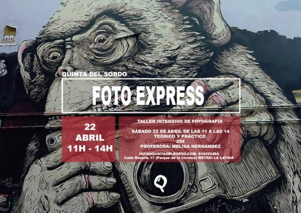 taller foto express Quinta del Sordo