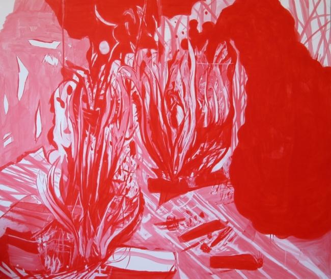Luis Almeida. Playing with fire – Cortesía de Alecrim 50 Contemporary Art