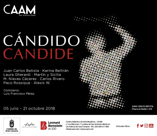Cartel de la exposición 'Cándido Candide'