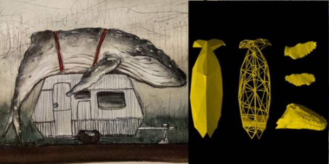 Sebastián Beyró. El Coleccionista – Cortesía deNaves Matadero - Centro Internacional de Artes Vivas