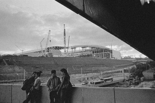 Itaquerão #1, 2014. Fotografia de Mauro Restiffe / São Paulo, fora de alcance, projeto realizado pelo IMS
