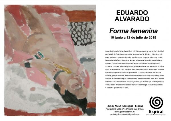Eduardo Alvarado, Forma femenina