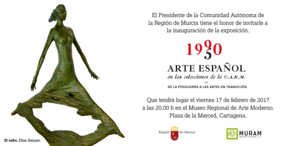1950-1990, Arte Español en las colecciones de la C.A.R.M. De la Posguerra a las Artes en Transición