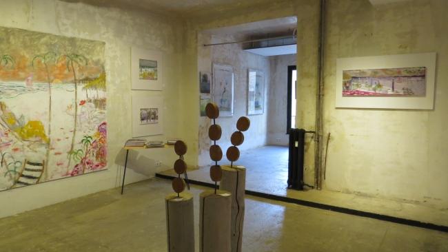 Pop Up Art – Cortesía de Isabel Martin-Laborda y Maima Rodriguez Peñamaría | Ir al evento: 'Pop Up Art'. Exposición de Escultura, Fotografía, Pintura en A2 Garage / Madrid, España